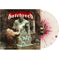 Hatebreed- Weight Of The False Self LP (Bone & Blood Splatter Vinyl)