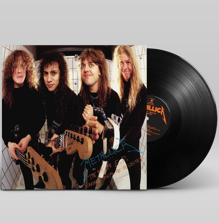 "Metallica- The $5.98 EP- Garage Days Re-Revisited 12"" (180gram Vinyl)"