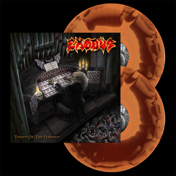 Exodus- Tempo Of The Damned 2xLP (Red/Orange Vinyl)