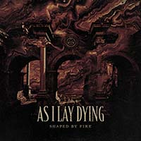 As I Lay Dying- Shaped By Fire LP (Ltd Ed Beer Color With Black Splatter Vinyl)