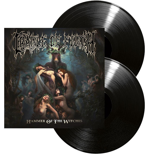 Cradle Of Filth- Hammer Of Witches 2xLP