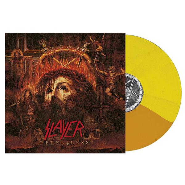 Slayer- Repentless LP (Yellow/Orange Split Vinyl)