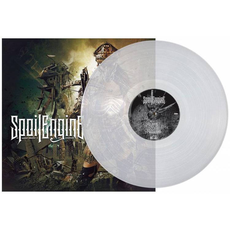 Spoil Engine- Storm Sleeper LP (Clear Vinyl)