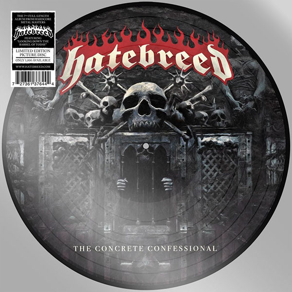 Hatebreed- The Concrete Confessional Pic Disc LP