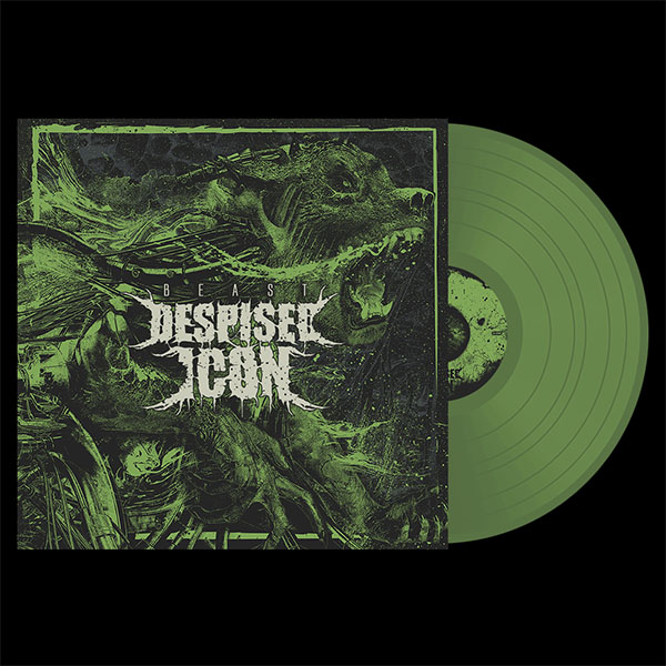 Despised Icon- Beast LP (Olive Vinyl)