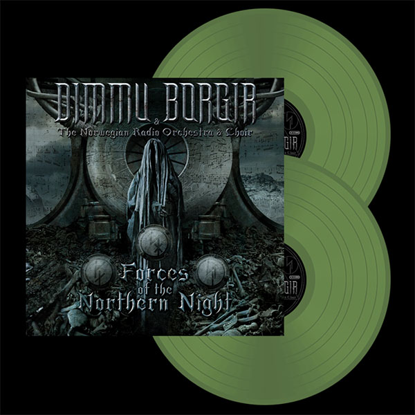 Dimmu Borgir- Forces Of The Northern Night 2xLP (Military Green Vinyl)