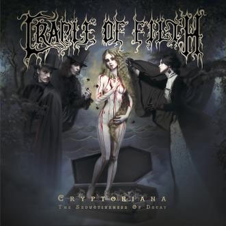 Cradle Of Filth- Cryptoriana, The Seductiveness Of Decay 2xLP (Clear With Red Splatter Vinyl)