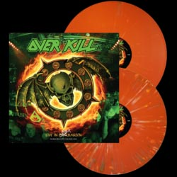 Overkill- Horrorscope Volume One: Live In Overhausen 2xLP (Orange With Green And Yellow Splatter Vinyl)