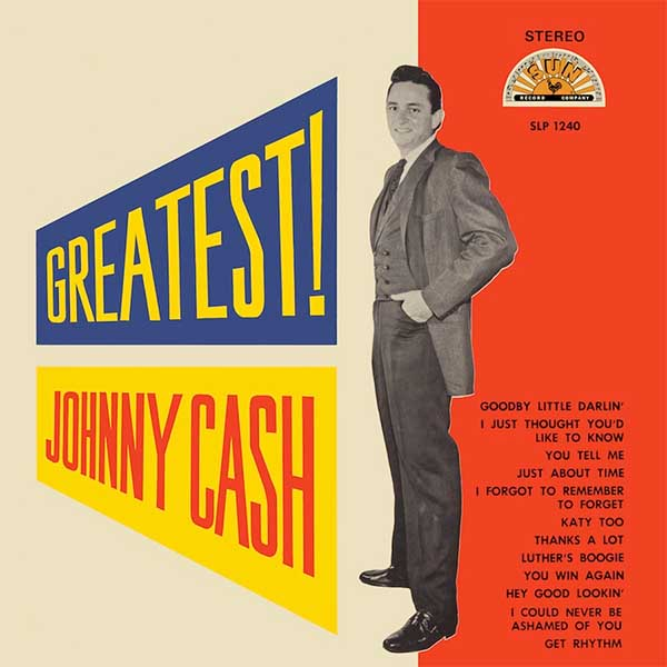 Johnny Cash- Greatest! LP