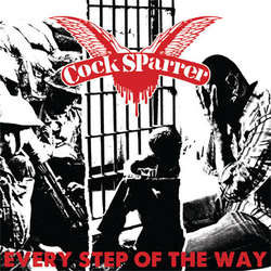 "Cock Sparrer- Every Step Of The Way 7"" (Color Vinyl!) (Sale price!)"