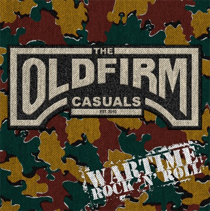 "Old Firm Casuals- Wartime Rock N Roll 12"" (Printed Vinyl) (Record Store Day 2018 Release!)"