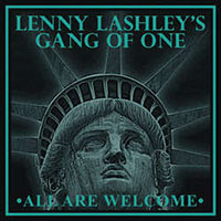 Lenny Lashley's Gang Of One- All Are Welcome LP (Clear & Gold Marble Vinyl)