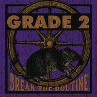 Grade 2- Break The Routine LP (Neon Violet Vinyl)