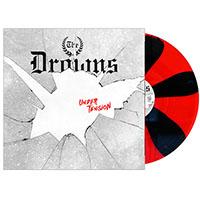 Drowns- Under Tension LP (Red & Black Spokes Vinyl)