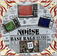 """Noi!se- Base Rage On The Front Page 12"""" Pic DIsc Single"""