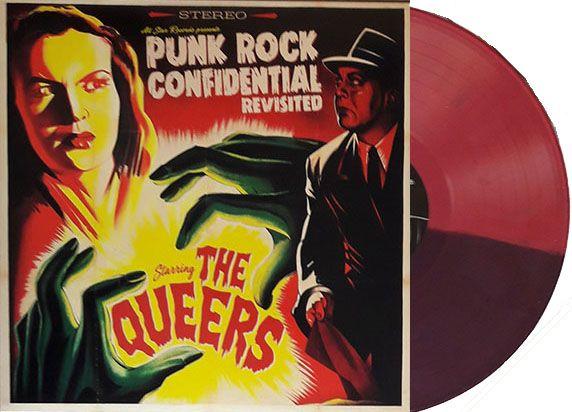 Queers- Punk Rock Confidential LP (Ltd Ed Split Color Vinyl)
