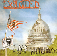 Exploited- Live At The White House LP (Green Vinyl)