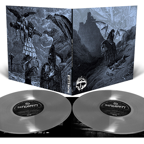 Integrity- Howling, For The Nightmare Shall Consume 2xLP (Silver Vinyl)