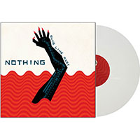 Nothing- Blue Line Baby LP (White Vinyl With Red Silkscreen)