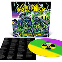 Toxic Holocaust- An Overdose Of Death LP (Neon Yellow Green & Purple Striped Vinyl)