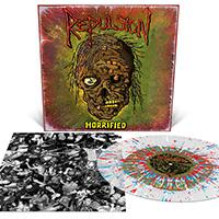 Repulsion- Horrified LP (Swamp Green With Splatter Vinyl)