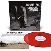 Agoraphobic Nosebleed / Despise You- And On And On LP (Red Vinyl)