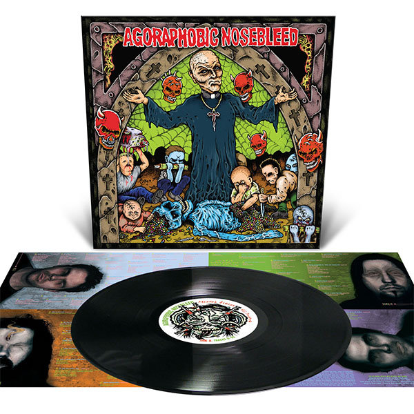 Agoraphobic Nosebleed- Altered States Of America LP