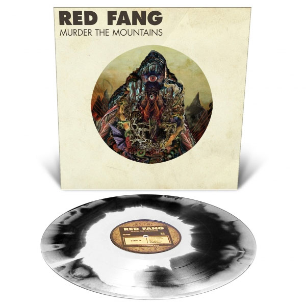 Red Fang- Murder The Mountains LP (White & Black Vinyl)
