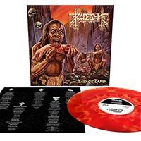 Gruesome- Savage Land LP (Bone And Blood Vinyl)