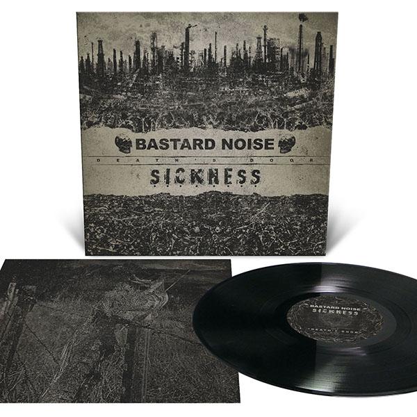 Bastard Noise / Sickness- Death's Door LP