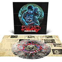 Exhumed- Death Revenge LP (Black Smoke With Splatter Vinyl)