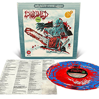 Exhumed- Horror LP (Red, Silver And Blue With Red Splatter Vinyl)
