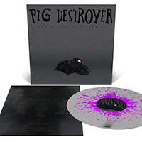 Pig Destroyer- The Octagonal Stairwell LP (Silver With Neon Magenta Splatter)