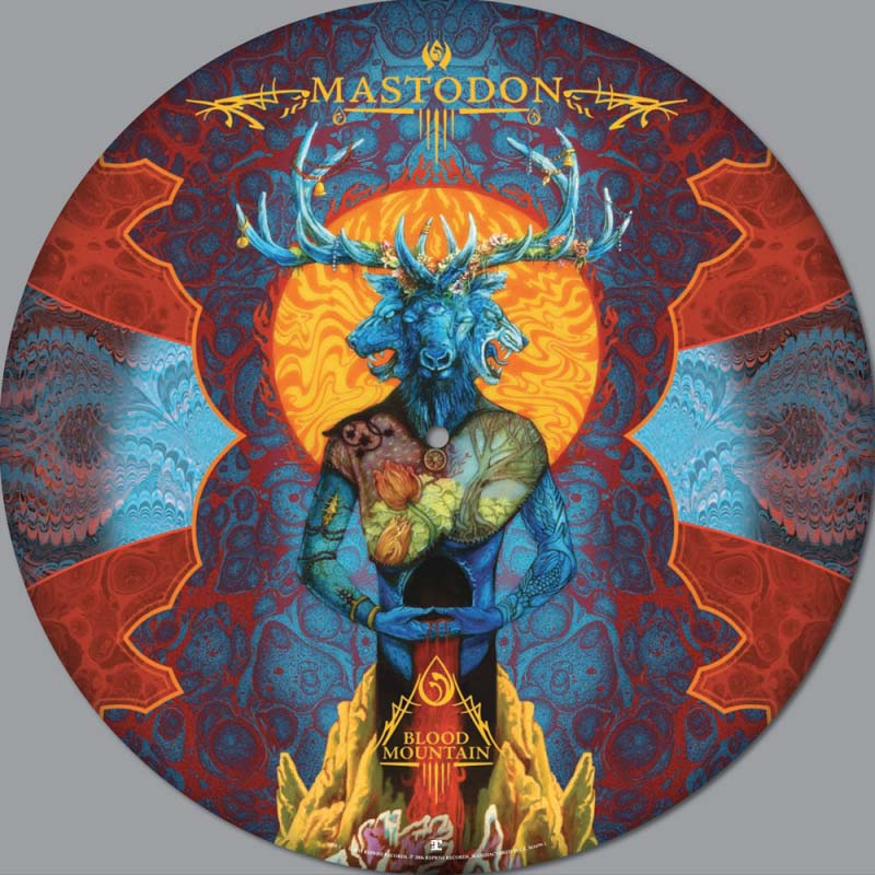 Mastodon- Blood Mountain LP (Picture Disc)