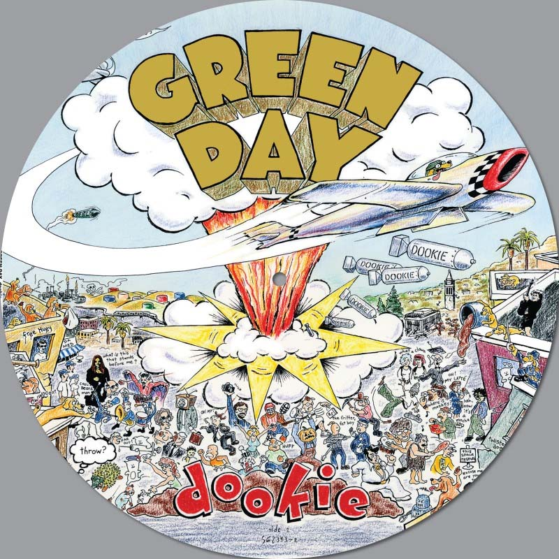 Green Day- Dookie LP (Picture Disc)