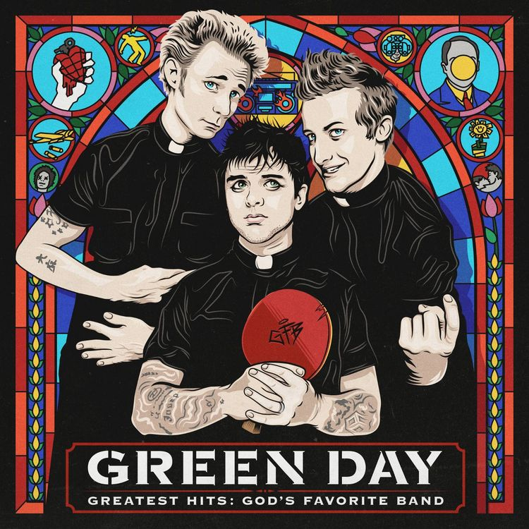 Green Day- Greatest Hits, God's Favorite Band 2xLP