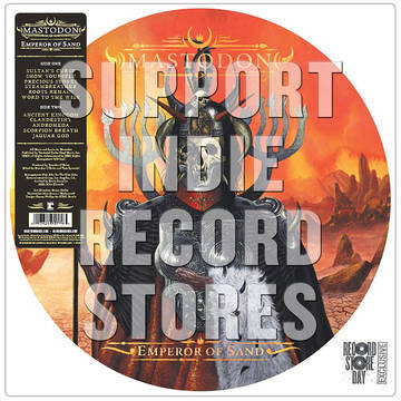 Mastodon- Emperor Of Sand LP (Pic Disc) (Record Store Day 2018 Release)