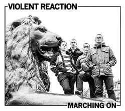 Violent Reaction- Marching On LP (Green Vinyl)