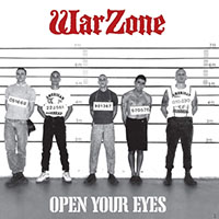 Warzone- Open Your Eyes LP (30th Anniversary Grey Vinyl With Booklet)