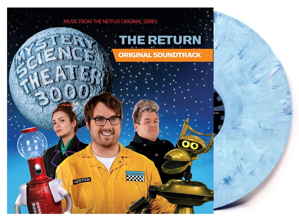 Mystery Science Theater 3000, The Return (Original Soundtrack) LP (Satellite Of Love Blue Grey Vinyl)