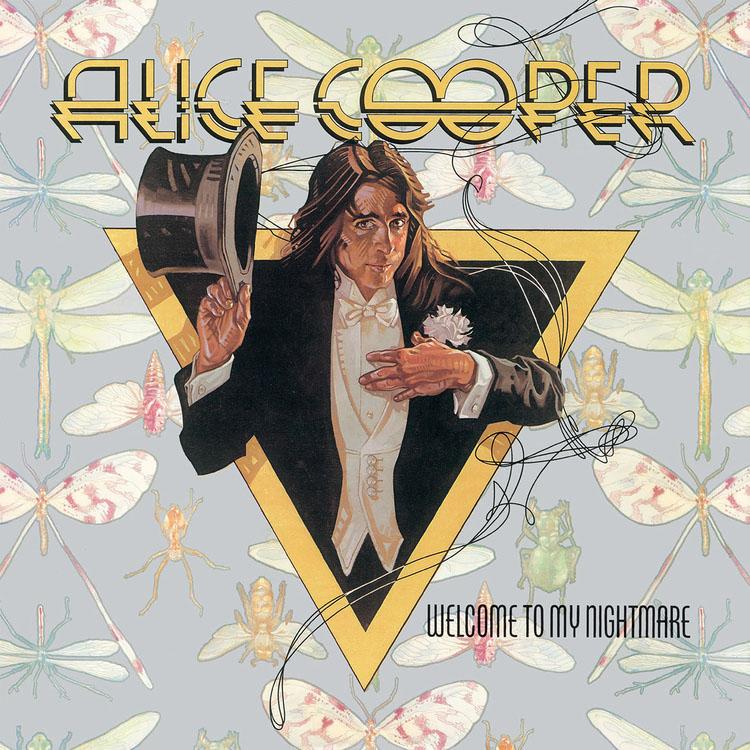 Alice Cooper- Welcome To My Nightmare LP (140gram Purple Vinyl)