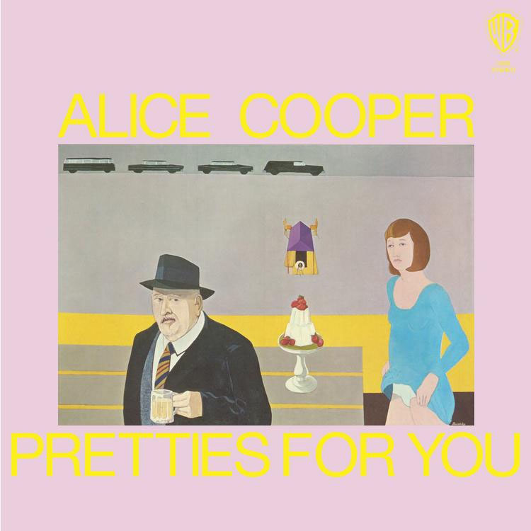 Alice Cooper- Pretties For You LP (Red Vinyl)
