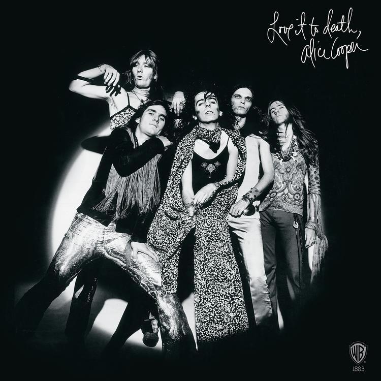 Alice Cooper- Love It To Death LP (Black/White Vinyl)
