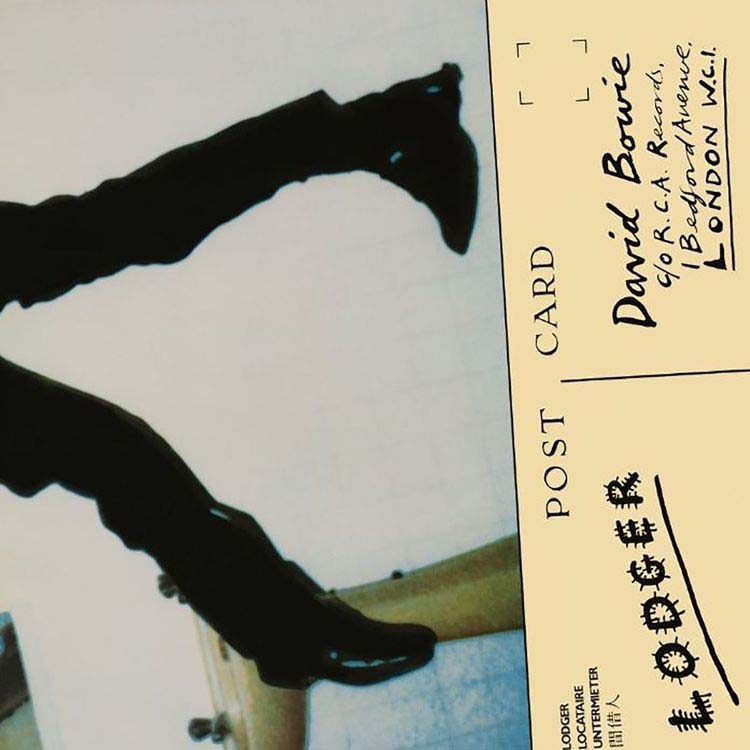 David Bowie- Lodger LP (Remastered, 180gram Vinyl)