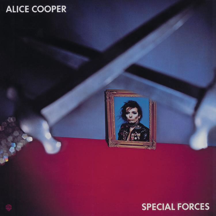Alice Cooper- Special Forces LP (Blue Vinyl)