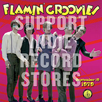 Flamin' Groovies- Vaillancourt Fountain 9/19/79 LP (Fire Orange With Black Swirl Vinyl) (Black Friday Record Store Day 2018 Release)