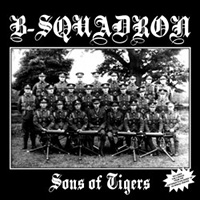 B-Squadron- Sons Of Tigers LP (UK Import, Clear Vinyl)