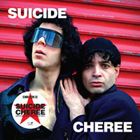 """Suicide- Cheree 10"""" (Clear Vinyl) (June 12th 2021 Record Store Day Release)"""