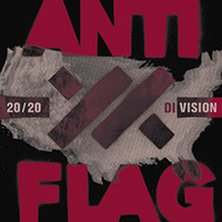 Anti Flag- 20/20 Division LP (Red Vinyl) (June 12th 2021 Record Store Day Release)