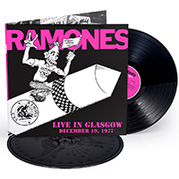 Ramones- Live In Glasgow, 12/19/77 2xLP (180gram Etched Vinyl, Each Copy #'d) (Black Friday Record Store Day 2018 Release)